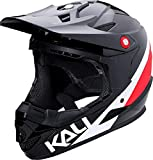 Kali Protectives Zoka Full-Face Helmet Black/Red/White, L