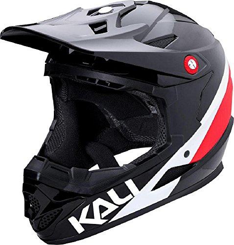 Kali Protectives Zoka Full-Face Helmet Black/Red/White, L