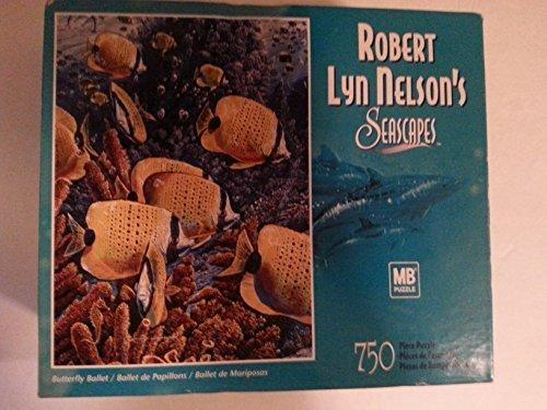barato Butterfly Ballet Robert Nelson's Seascape's by by by MB Puzzle  Disfruta de un 50% de descuento.