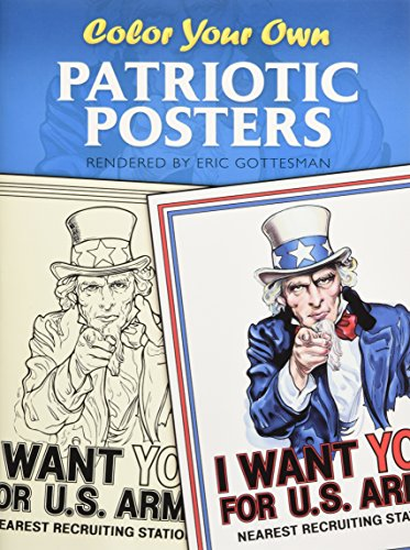 Color Your Own Patriotic Posters (Dover Art Coloring Book)