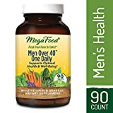 Cheap MegaFood – Men Over 40 One Daily, Multivitamin Support for Healthy Energy Levels, Prostate Function, Mood, and Bones with Zinc and B Vitamins, Vegetarian, Gluten-Free, Non-GMO, 90 Tablets (FFP)