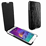 Piel Frama 699 iMagnum Black Crocodile Leather Case for Samsung Galaxy Note 4