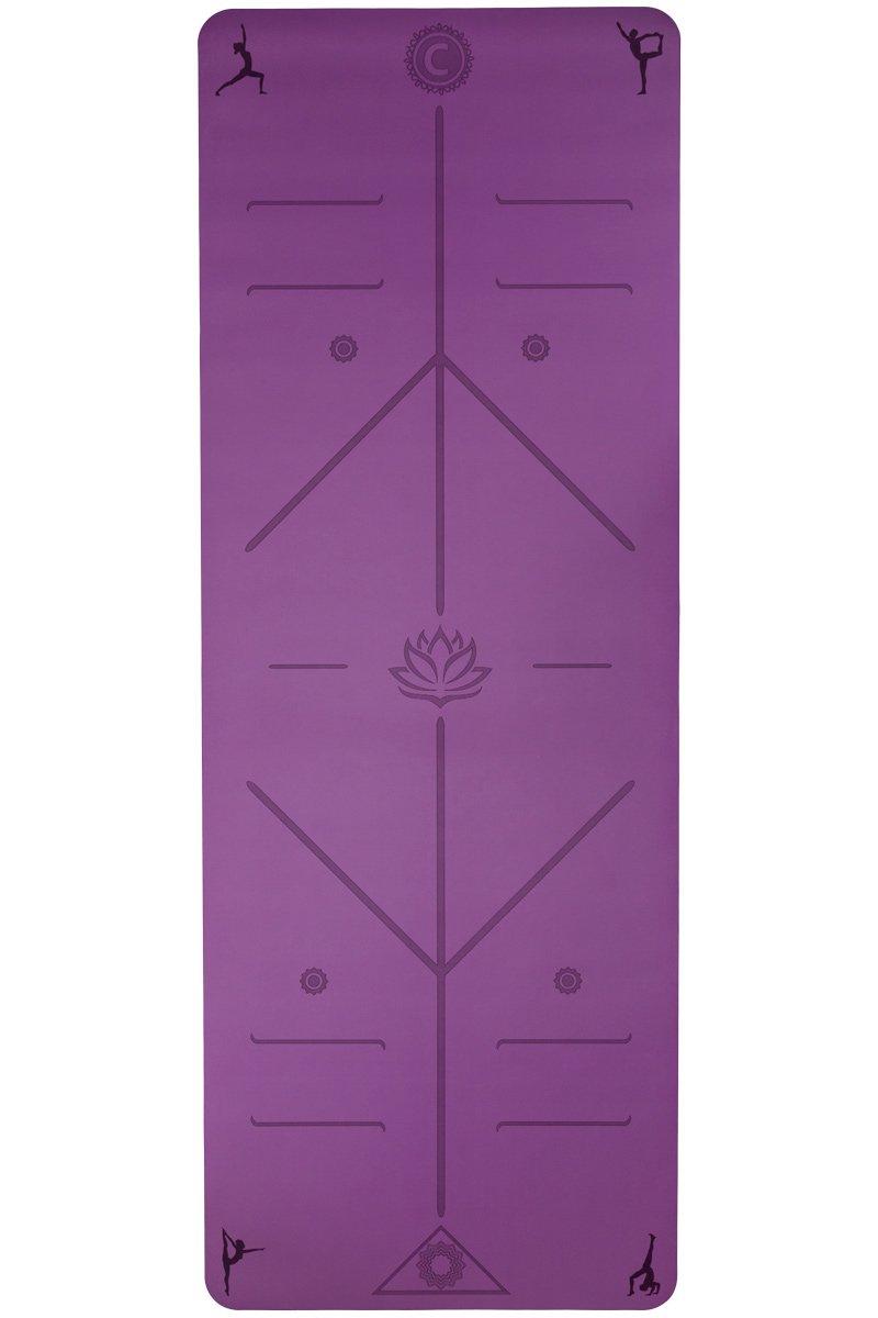 El último Yoga Mat por Chandra Yoga y Active Wear W/sistema ...