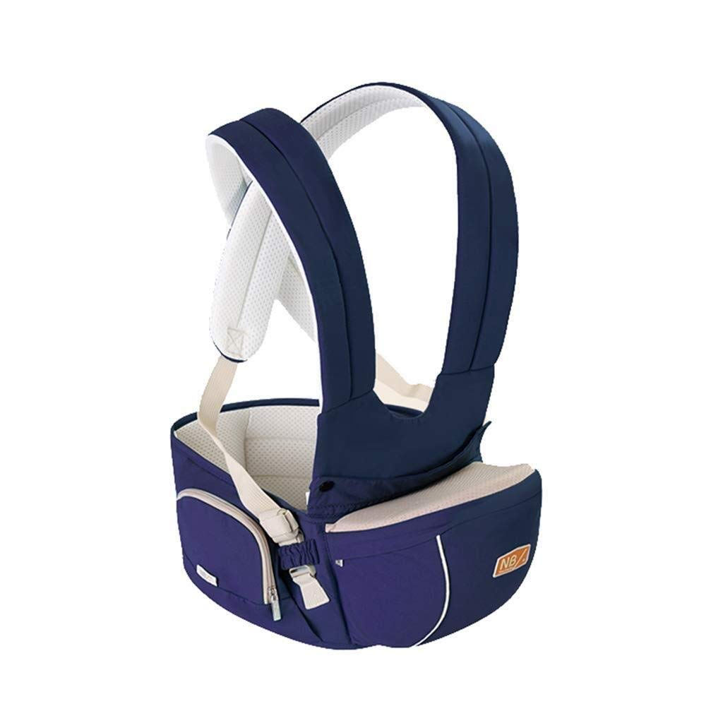 WDOPZMS Baby Carrier for Toddler - Baby Waist Belt, Baby Harness, Baby Harness, Multifunction, Four Seasons, Universal Baby Harness, Multicolor Optional (Color : Dark Blue)