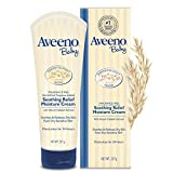 Health & Personal Care : Aveeno Baby Soothing Relief Moisturizing Cream For Dry Sensitive Skin, 8 Oz.