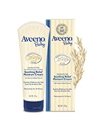 Aveeno Baby Soothing Relief Moisturizing Cream For Dry Sensitive Skin, 8 Oz. BOBEBE Online Baby Store From New York to Miami and Los Angeles