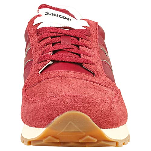 Bordeaux Jazz 1 Uomo Maroon Saucony Sneakers Vintage S70419 Scarpe Original A7wvEZXxq