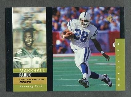 Amazon com: 1995 SP Holoviews #7 Marshall Faulk Colts NR-MT 243861