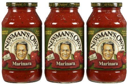 3 Savers Package:Newman's Own Marinara Pasta Sauce (12x24 Oz) ()