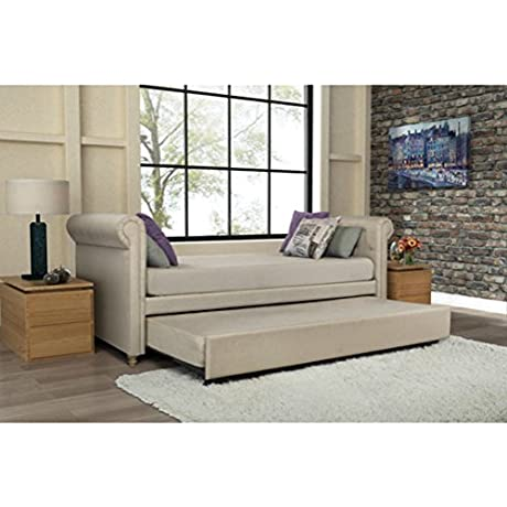 Best Trundle Sofa Bed Beautiful Modern Amazing Detail Interior Upholstered Comfortable Fold Out Sleeper Daybed Living Room Teenagers Bedroom