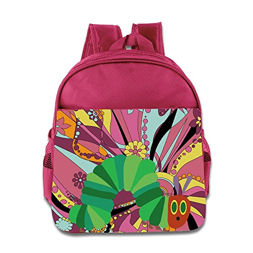 Logon 8 The Very Hungry Insect Cool Backpacks Pink For 3-6 Years Olds Baby