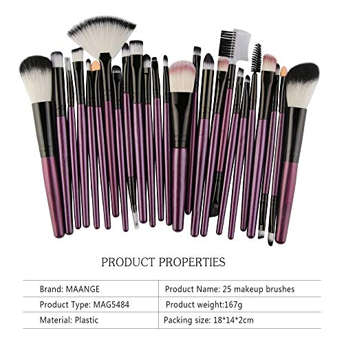 - FORUU Make up Brushes, 2019 Valentine's Day Surprise Best Gift For Girlfriend Lover Wife Party Under 5 Free delivery 25pcs Cosmetic Makeup Brush Blusher Eye Shadow Brushes Set Kit