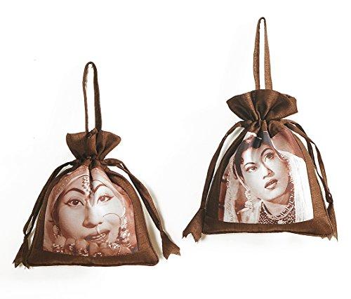 ShalinIndia, Borsetta senza manici donna