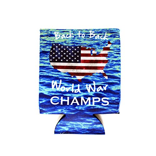 Swannys Back to Back World War Champs Can Coozie
