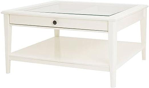 Ikea - Mesa de Centro para Dormitorio (Cristal Blanco), Color ...