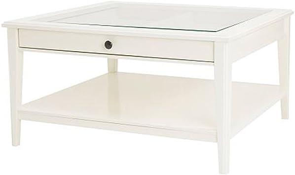 Ikea Table Basse En Verre Blanc Amazon Fr Cuisine Maison