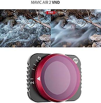 Pgytech Einstellbar 4 In 1 Nd Filter Für Mavic Air 2 Drehwinkel Konvertieren Sie Nd4 Nd8 Nd16 Nd32 Filter Sport Freizeit