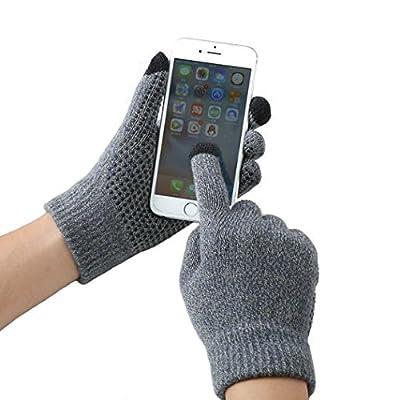 Gants de sport en plein air Gants de ski de randonnée pour hommes et femmes Gants antidérapants contre le vent Texting / Gants à écran tactile pour téléphone, iPad