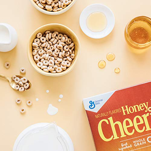 Large Product Image of Honey Nut Cheerios, Gluten Free, Cereal with Oats, 19.5 oz Box