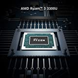 UM300 Mini PC AMD Ryzen 3 3300U Windows 10 Pro Mini PC Desktop Computer, Radeon Vega 6 Graphics,8GB DDR4 128GB SSD,HDMI2.0/DP/USB-C Triple 4K@60Hz Output,with1000M LAN Intel WIFI6 AX200 BT5.1