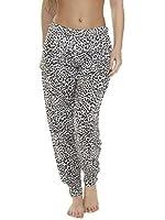 Love My Fashions Women's Printed Full Length & 3/4 Ali Baba Harem Trousers Plus