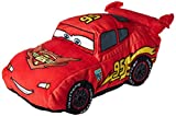 "Disney/Pixar Cars Lightning McQueen 19"" Red Plush Cuddle Pillow"