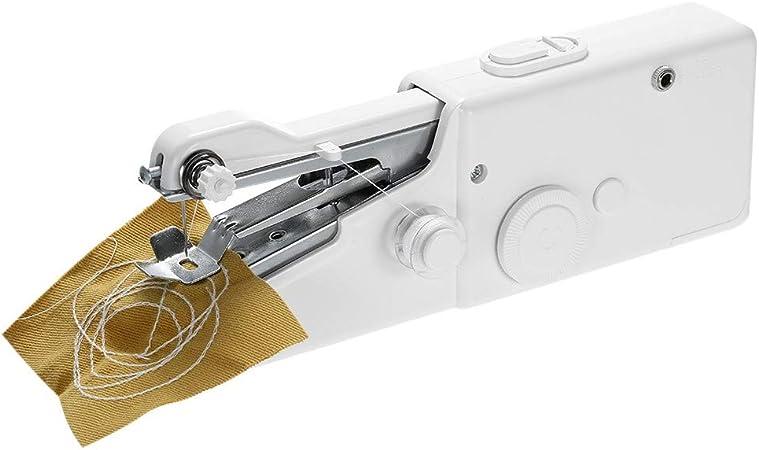 PKA máquina de Coser eléctrica portátil de Mano, Funciona con ...
