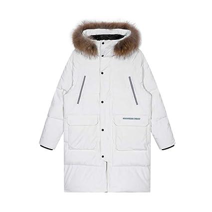 Abrigos Chaquetas Chaqueta de algodón para Hombre con Capucha Chaqueta de algodón, Abrigo Largo y
