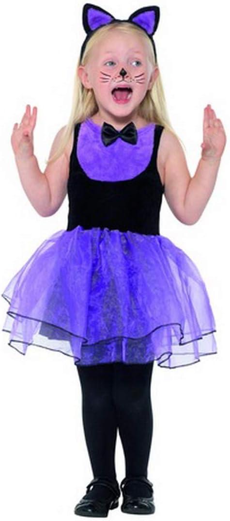 Fancy Ole – Disfraz de niña con tutú y Diadema para Gatos ...