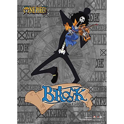 One Piece Brook Wallscroll Anime Posters