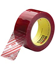 Scotch Security Message Box Sealing Tape 3779, Clear, 48 mm x 100 m