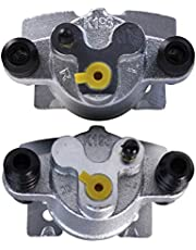 AutoShack BC3014PR Pair Set of 2 Rear Driver and Passenger Side Disc Brake Caliper Assembly Replacement for 2004-2011 Ford F-150 2006-2008 2010 2011 Lincoln Mark LT 4.6L 5.0L 5.4L 6.2L 4WD AWD RWD