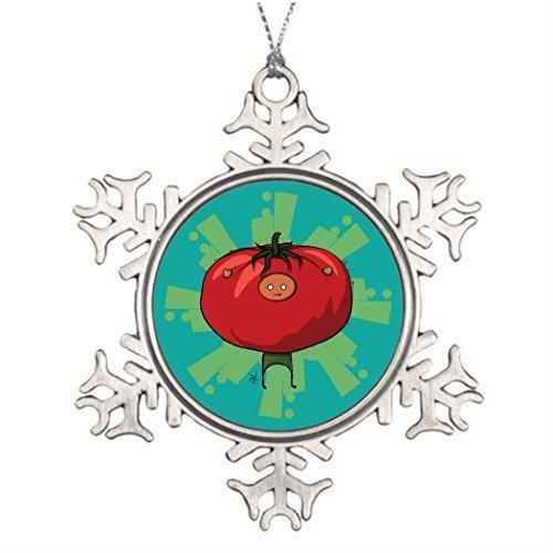 Metal Ornaments Custom Christmas Snowflake Ornament Too Snowflake Ornament Trees (2013 Swarovski Ball)