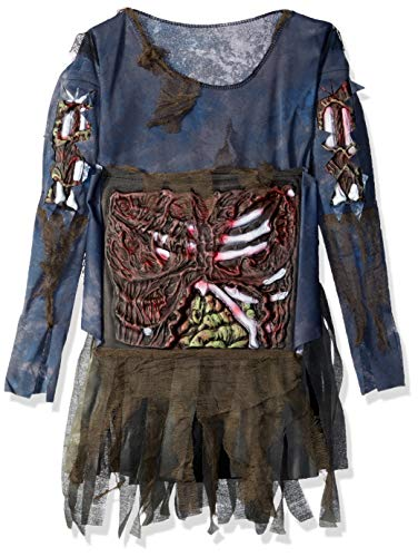 Zombie Girls Halloween Costume, Medium