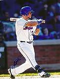JUAN CENTENO NEW YORK METS SIGNED AUTOGRAPHED 8x10 PHOTO W/COA AT BAT