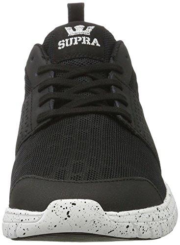 Scarpa Da Skate Super Forbice Nera - Bianco Maculato