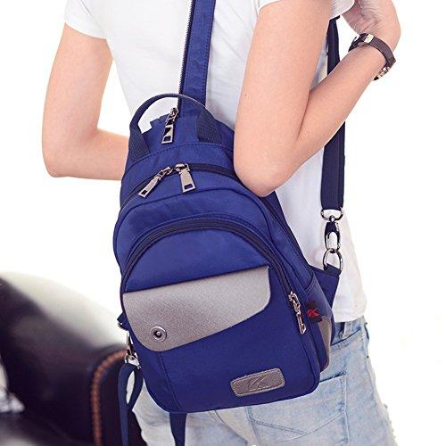bolso de hombro del ms/Viajes Oxford Mochila/turismo coreano mochila pequeña/Múltiples paquetes pecho-B B