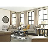 Ashley Furniture Signature Design -Blackwood Sleeper Sofa - Traditional Style Couch - Queen Size - Taupe
