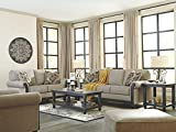 Ashley Furniture Signature Design - Blackwood Sleeper Sofa - Traditional Style Couch - Queen Size - Taupe