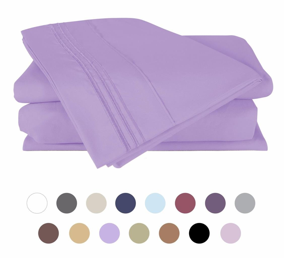 Bed Sheet Set Queen -Violet