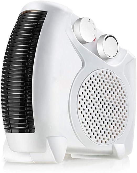 HM&DX Eléctrico Calefactor Ventilador, Portátil Calefactor de ...