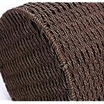 HHTX-Bote-de-Basura-para-Tejido-de-bambu-y-ratan-sin-Tapa-Papelera-Contenedor-de-Basura-de-Gran-Capacidad-Adecuado-para-Interiores-y-exteriores-19-25-26-Marron