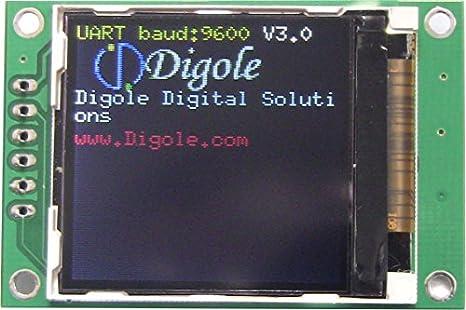 "1.44 ""Serie: UART/I2 C/SPI TFT LCD Módulo de visualización"