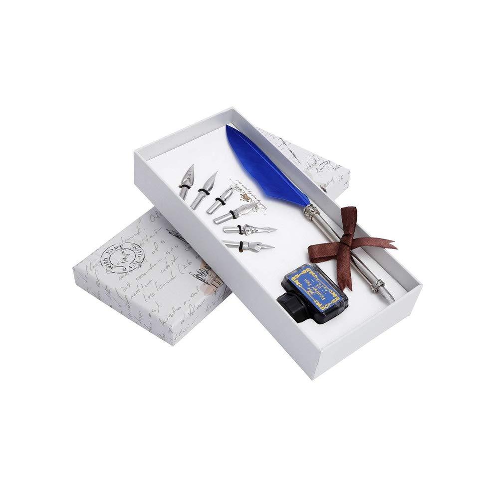 Pluma pluma de ganso regalo 5 unids Pen Head Vintage Quill Pen ...