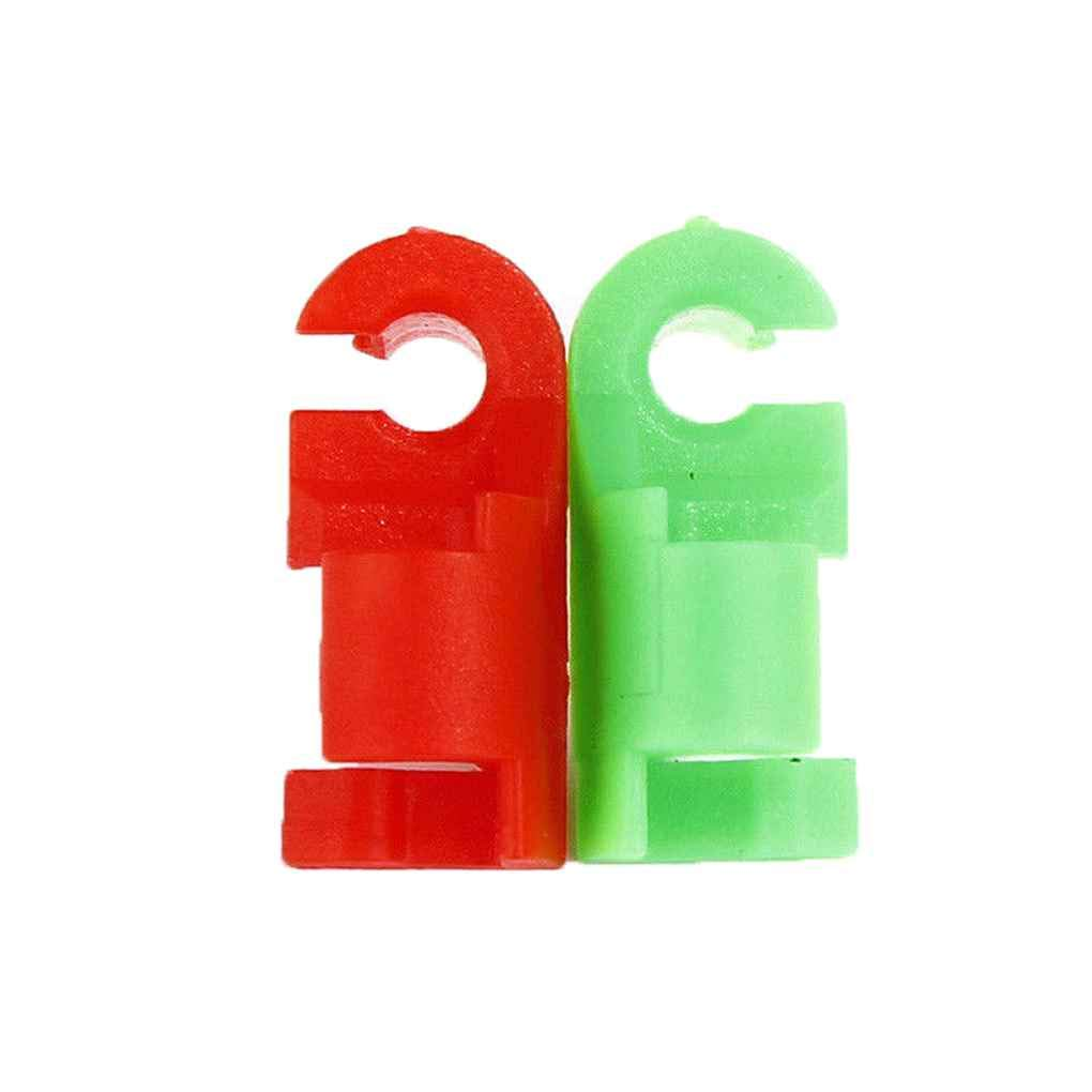 Muluo 1 Pair Tailgate Handle Rod LH RH Clip Set Replacement or 1999-2007 GMC Sierra Chevy Silverado