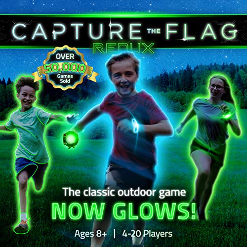 Capture the Flag REDUX: a Nighttime Outdoor Game for Youth Groups, Birthdays and Team Building – a Unique Glow-in-The-Dark -