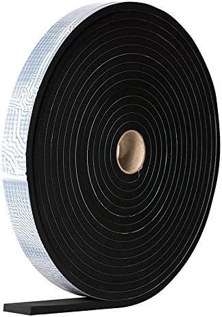 Dichtband EPDM einseitig selbstklebend 10m Rolle EPDM, 40mm x 4mm