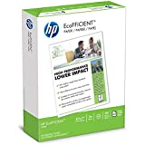 HP Printer Paper, EcoFFICIENT16 Paper, 8.5 x 11, Letter Size, 16lb, 92 Bright, 1 Ream / 625 Sheets (216000) Acid Free Paper