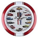 mustang car clock - Mark Feldstein & Associates History of Mustang Sound Clock, 13