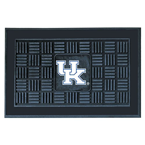 FANMATS NCAA University of Kentucky Wildcats Vinyl Door - Ncaa Welcome Wildcats Mat